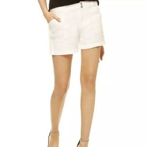 Sanctuary 30 10 Linen Khaki Shorts